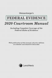 Weissenberger's Federal Evidence Courtroom Manual cover