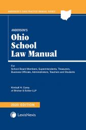 Anderson's Ohio School Law Manual cover