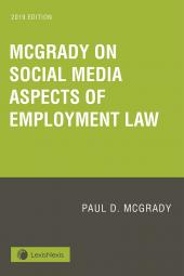 McGrady on Social Media Aspects of Employment Law cover