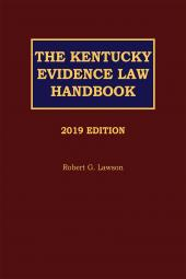 The Kentucky Evidence Law Handbook cover