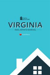 Virginia Real Estate Manual cover