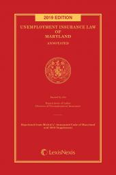 Unemployment Insurance Law of Maryland Annotated cover