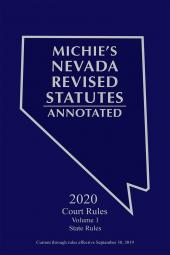 Michie's Nevada Revised Statutes Annotated: Court Rules Annotated cover