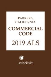 Parker's California Commercial Code ALS cover