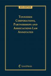 Tennessee Corporations, Partnerships and Associations Law Annotated cover