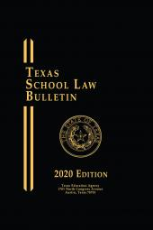 Texas School Law Bulletin cover