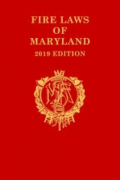 Fire Laws of Maryland cover