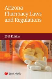 Arizona Pharmacy Laws and Regulations cover