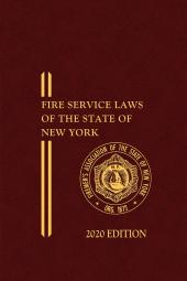 FASNY Fire Service Laws of the State of New York (Members Only) cover