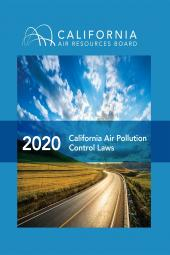 California Air Pollution Control Laws cover