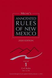 Michie's Annotated Rules of New Mexico cover