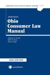 Anderson's Ohio Consumer Law Manual cover
