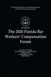 The Florida Bar Workers' Compensation Forum cover