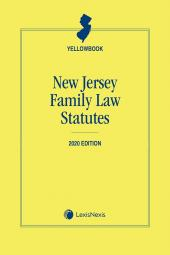 New Jersey Family Law Statutes (Yellowbook) cover