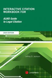 Interactive Citation Workbook for ALWD Guide to Legal Citation cover