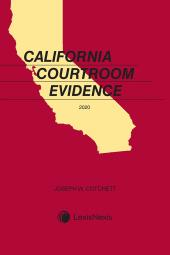 California Courtroom Evidence cover