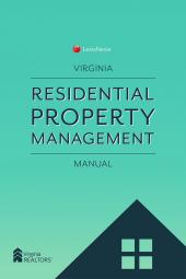 Virginia Residential Property Management Manual cover