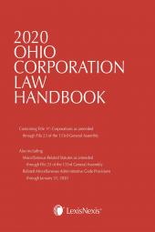 Ohio Corporation Law Handbook cover