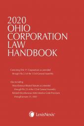 Ohio Corporation Law Handbook cover