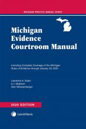 Michigan Evidence Courtroom Manual cover