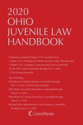 Ohio Juvenile Law Handbook cover
