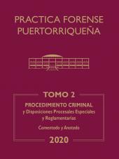 Práctica Forense Puertorriqueña: Reglas de Procedimiento Criminal cover