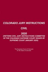 Colorado Jury Instructions Civil cover