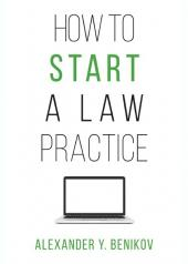 How to Start a Law Practice cover