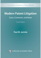 Modern Patent Litigation: Cases, Comments, and Notes cover