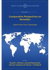 Comparative Perspectives on Remedies: Views from Four Continents, The Global Papers, Volume V cover