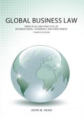 Global Business Law: Principles and Practice of International Commerce and Investment cover