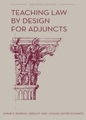 Teaching Law by Design for Adjuncts cover