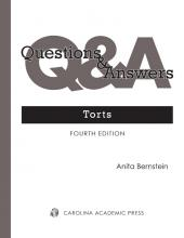 Questions & Answers: Torts | LexisNexis Store