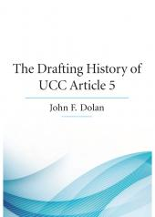 The Drafting History of UCC Article 5 cover