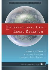 International Law Legal Research cover
