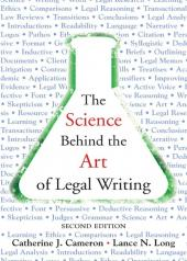 The Science Behind the Art of Legal Writing cover