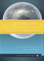 International Legal Research in a Global Community cover