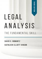 Legal Analysis: The Fundamental Skill cover