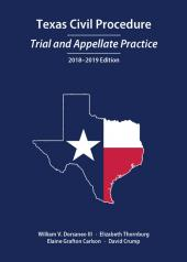 Texas Civil Procedure: Trial and Appellate Practice cover