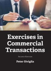 Exercises in Commercial Transactions cover