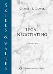 Skills & Values: Legal Negotiating cover