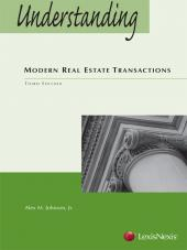 Understanding Modern Real Estate Transactions, Third Edition (2012) cover