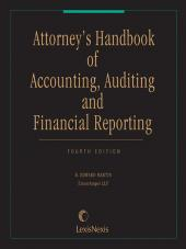 Attorney's Handbook of Accounting, Auditing and Financial Reporting cover