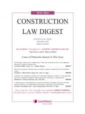 Construction Law Digest cover
