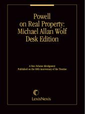 Powell on Real Property®: Michael Allan Wolf Desk Edition cover