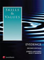 Skills & Values: Evidence, Second Edition (2012) cover