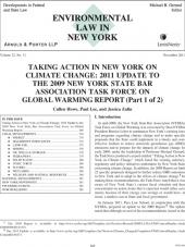 Environmental Law in New York cover