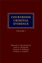 Courtroom Criminal Evidence cover