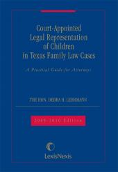 Court - Appointed Representation of Children in Texas Family Law Cases cover