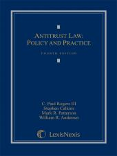 Antitrust Law: Policy and Practice, Fourth Edition (2008) cover